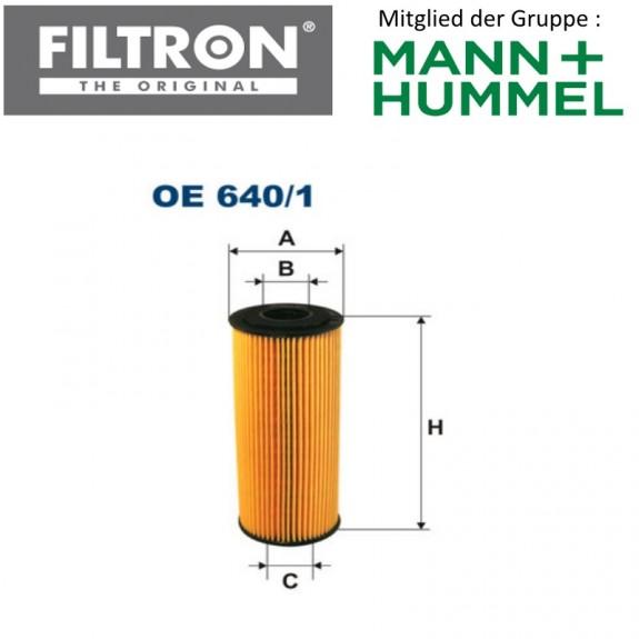 Ölfilter FILTRON OE640/1