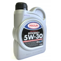 MEGUIN megol Motorenöl Efficiency SAE 5W-30 1 Liter (9,90€/ l)