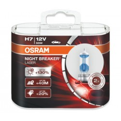 OSRAM H7 Night Breaker Laser 64210NBL-HCB für 130% mehr Licht (2 Stück)