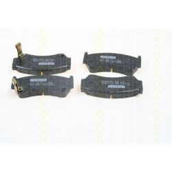 Bremsbelagsatz TRISCAN für Nissan Almera I Hatchback 1.4 SGXLX