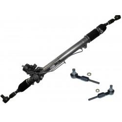 Lenkgetriebe Audi A6 4B C5 mit Servotronic & Halter für Lenkungsdämpfer mit neuen Spurstangenköpfen