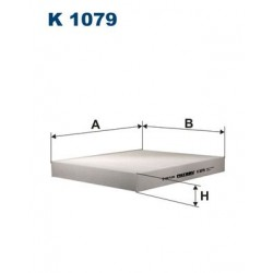1 Stück K1079 Innenraumfilter