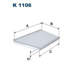 1 Stück K1106 Innenraumfilter
