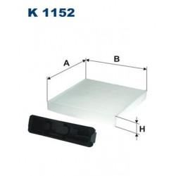 1 Stück K1152 Innenraumfilter