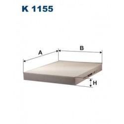 1 Stück K1155 Innenraumfilter