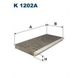 1 Stück K1202A Innenraumfilter Aktivkohle