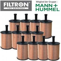 12 Stück Ölfilter FILTRON OE650/1 -  78% Rabatt