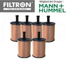 6 Stück Ölfilter FILTRON OE650/1 -  77% Rabatt