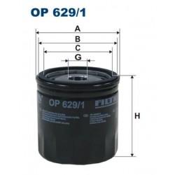 1 Stück OP629/1 Ölfilter