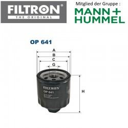 Ölfilter FILTRON OP641