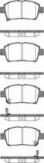 Bremsbelagsatzsatz Vorderachse TRISCAN für Toyota Corolla 1.4 VVT-i
