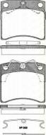 Bremsbelagsatzsatz Vorderachse TRISCAN für VW Transporter IV Pritsche/Fahrgestell 2.5 Syncro