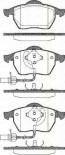 Bremsbelagsatzsatz Vorderachse TRISCAN für Audi A6 Avant 2.4 quattro